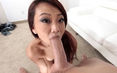 asian sucking cock